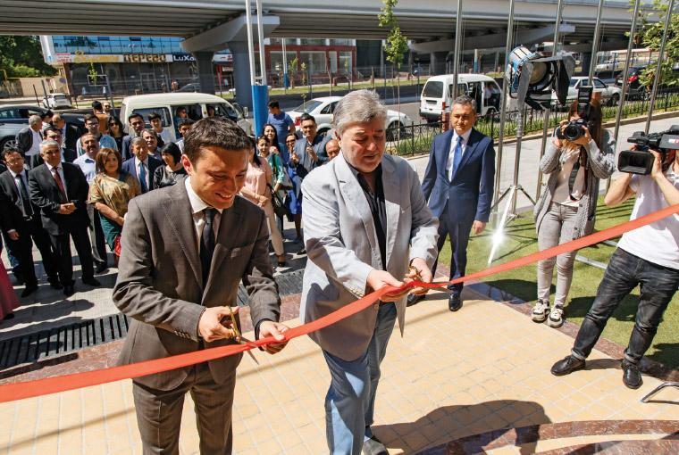 Открытие Центра развития кинематографии