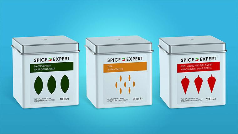 Spice Expert. Лого и упаковка