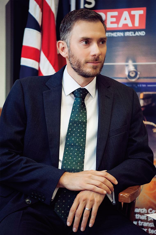 Посол Великобритании: Крис Аллан