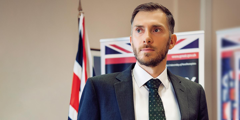 Посол Великобритании: Кристофер Аллан