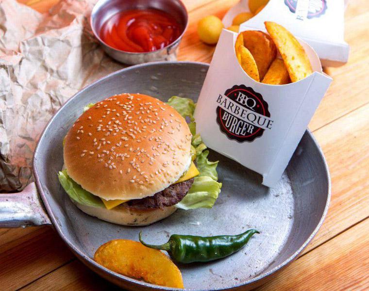 Куда пойти: Выходные в ТРЦ Samarqand Darvoza BBQ Burger