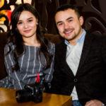 Умид Гафуров с супругой
