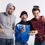 Камал, Акбар и Сардор – участники проекта GO.UZ