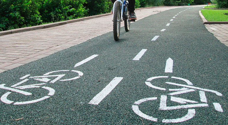 велодорожки в Ташкенте