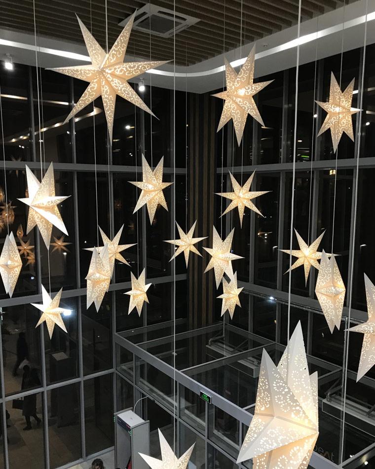 Ёлки в городе: новогоднее настроение уже рядом